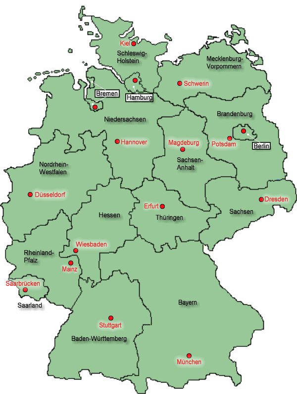 Annahmeschluss Eurojackpot nach Bundesland