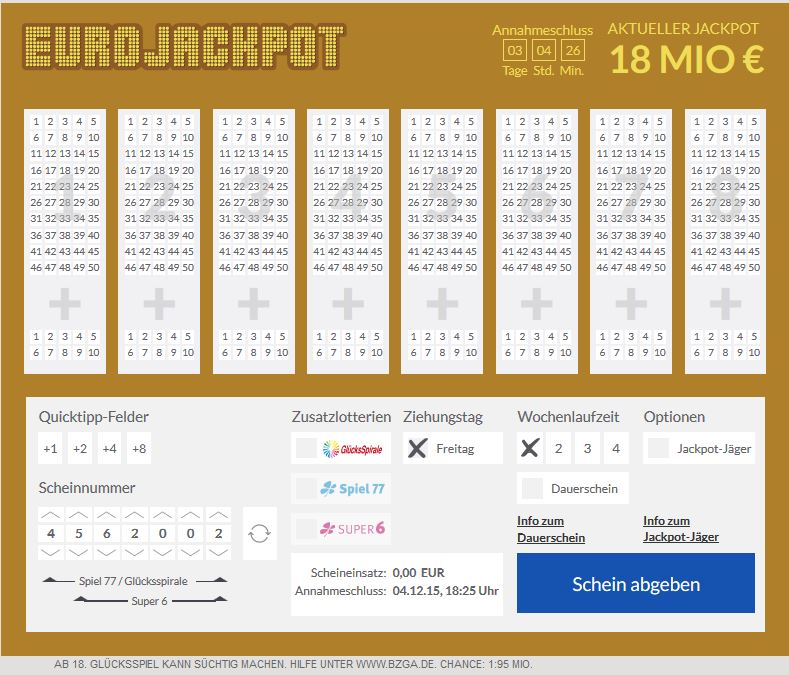 Eurojackpot Oder Lotto Was Ist BeГџer